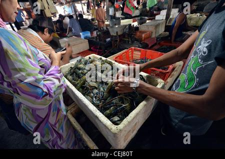Bali indonesia jimbaran fish market stock photo royalty for Nearest fresh fish market