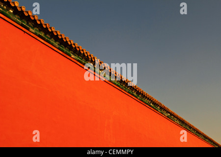 The wall of The Imperial Palace - Stockfoto