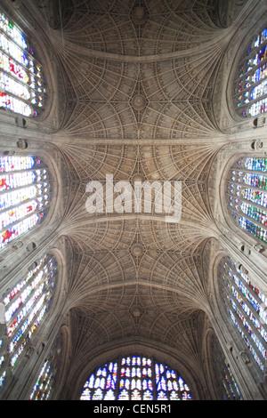 England, Cambridgeshire, Cambridge, King's College Chapel - Stock Photo