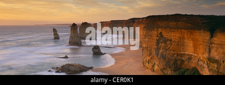 the Twelve Apostles, Port Campbell National Park, Great Ocean Road, Victoria, Australia - Stock Photo