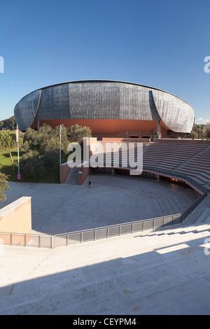 Auditorium, parco della musica, Rome, Italy - Stock Photo