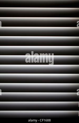 CLOSED VENETIAN WINDOW BLIND - Stock Photo