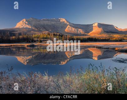 Sofa Mountian, Waterton Lakes National Park, Alberta, Canada. - Stock Photo