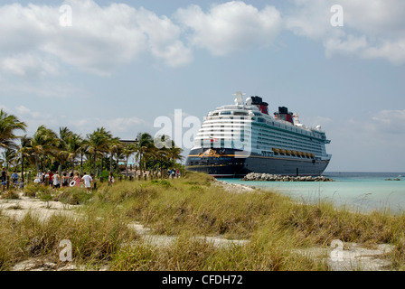 castaway cay in the bahamas on the disney cruise line's