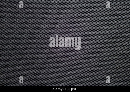mesh fiber Synthetic texture, black color background - Stock Photo