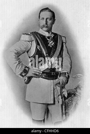 Portrait Of Kaiser Wilhelm II 1859-1941 Photograph by Bruno Heinrich Strassberger