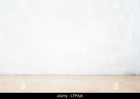 Dirty grunge wall and floor - Stock Photo