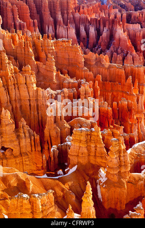 Rock Formations, Bryce Canyon National Park, Utah USA - Stock Photo