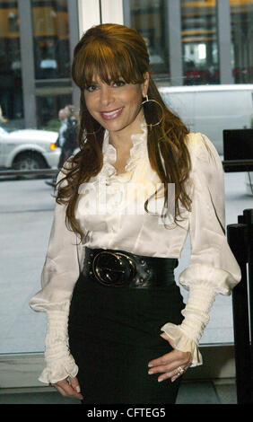 Jan 09, 2007; New York, NY, USA; Singer PAULA ABDUL at an interview with Fox & Friends Brian Kilmeade at Fox News - Stock Photo