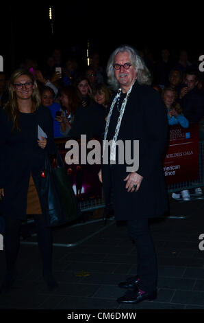 October 15th 2012: Billy Connolly at the UK Premiere of 'Quartet' Held in London's Leicester Square as Part of the - Stock Photo