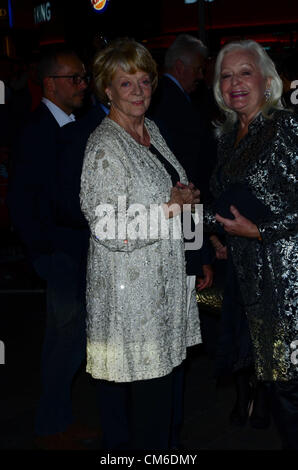 October 15th 2012: Maggie Smith at the UK Premiere of 'Quartet' Held in London's Leicester Square as Part of the - Stock Photo