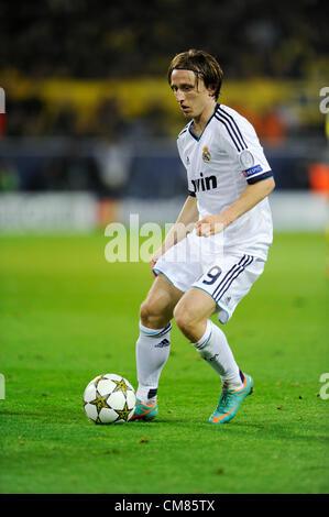 Dortmund, Germany. 24.10.2012,Football Champions League Group Phase 3rd matchday, Borussia Dortmund - Real Madrid - Stockfoto