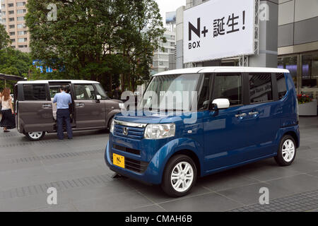 July 5 2012 tokyo japan honda motor co launches the for Honda motor company stock