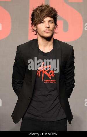 Louis Tomlinson. One Direction boy band seen leaving the ... Louis Tomlinson November 2013