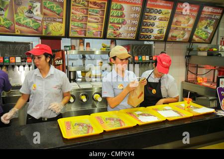 Hispanics Order Fast Food