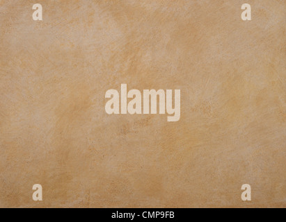texture of the walls are covered with orange putty - Stock Photo