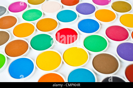 Watercolor set - Stock Photo