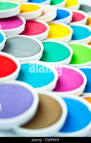 Watercolors - Stock Photo
