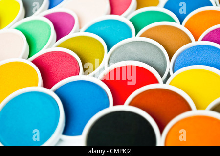 Watercolor pattern - Stock Photo