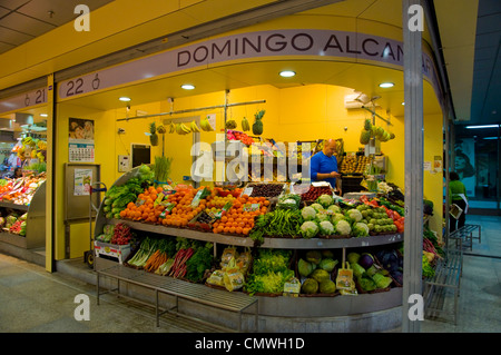 Food Market By The River In Seville
