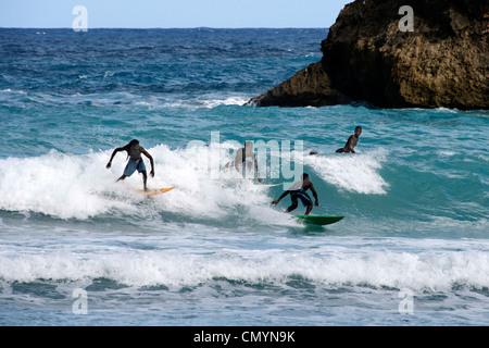 Jamaica Boston bay surfer - Stock Photo