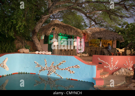 Jamaica Treasure beach Jakes boutique Resort - Stock Photo