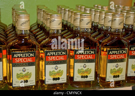 Jamaica Appleton Jamaica Rum factory district St. Elisabeth - Stock Photo