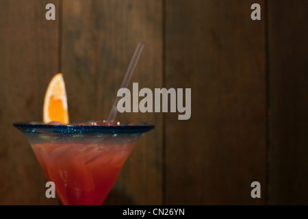 Cocktail, close up - Stock Photo