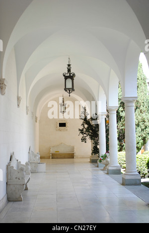Ukraine. Autonomous Republic of Crimea. Livadia Palace. Summer retreat of Nicholas II. Neo-Renaissance. By Nikolai - Stock Photo