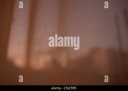 Curtain, close up - Stock Photo