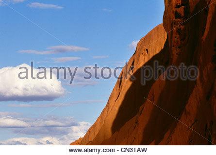 Ayers Rock, Uluru-Kata Tjuta National Park, Australia - Stock Photo