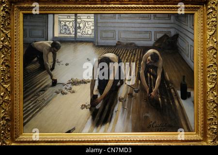 Gustave Caillebotte Les Raboteurs De Parquet 2 232 Me Version