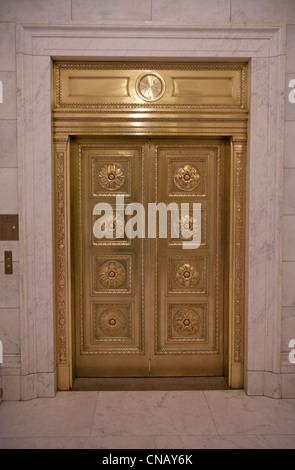 The Bronze Doors Of The United States Supreme Court
