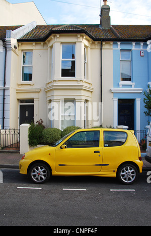 residential area Eastbourne United Kingdom - Stock Photo