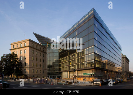 300 New Jersey Avenue, Washington DC, Architects: Architects: Rogers Stirk Harbour + Partners - Stock Photo