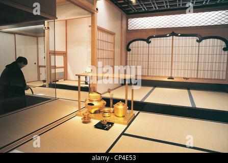 Japan - Nagoya. Interior of the Tokugawa Art Museum. - Stock Photo