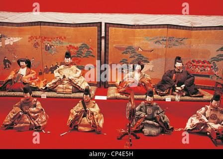 NAGOYA JAPAN ART MUSEUM Tokugawa DOLL FESTIVAL - Stock Photo