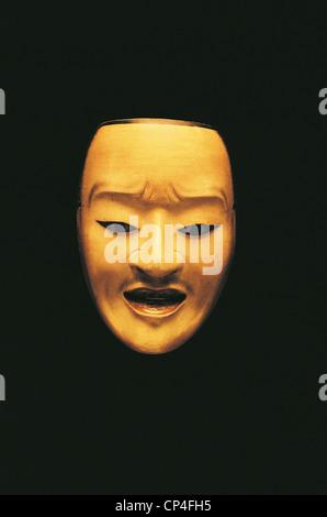 NAGOYA JAPAN MUSEUM OF ART NO MASK Tokugawa Kantan OTOK - Stock Photo