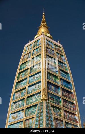 Shwedagon Pagoda, Yangon (Rangoon), Myanmar (Burma), Asia - Stock Photo