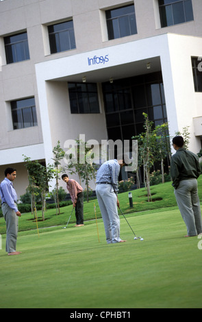 INDIA Bangalore , campus of Infosys in the Electronics City, Infosys is a major software developer and offers e - Stockfoto