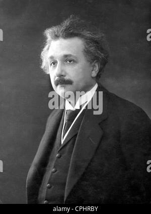 German physicist and winner of the Nobel Price (1921) Albert Einstein (1879-1955). - Stock Photo
