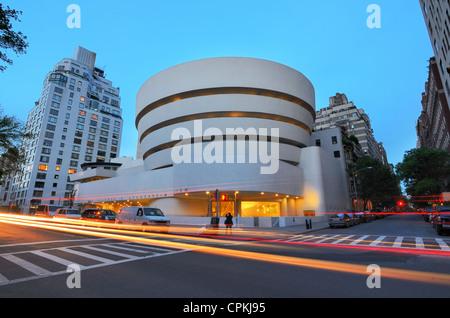 Guggenheim Museum in New York, New York, USA. - Stock Photo