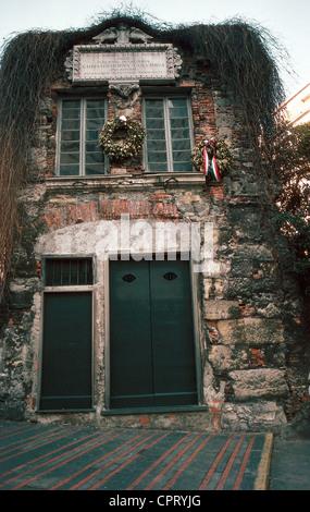 Columbus, Christopher, 1451 - 20.5.1506, Italian explorer, house 'Casa di Colombo', Genoa, Italy, Colombo, Colon, - Stock Photo