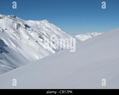 Austria, Zillertal, Mountain Landscape - Stock Photo