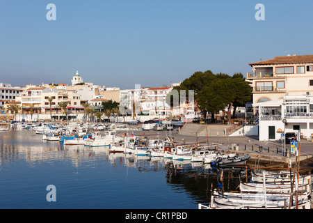 Fishing port, Cala Ratjada, Cala Ratjada, Majorca, Balearic Islands, Spain, Europe - Stock Photo