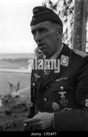 events, Second World War / WWII, aerial warfare, persons, General Theodor Osterkamp (15.4.1892 - 2.1.1975), commander - Stock Photo