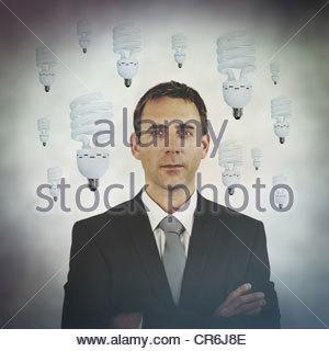 ideas man - Stock Photo