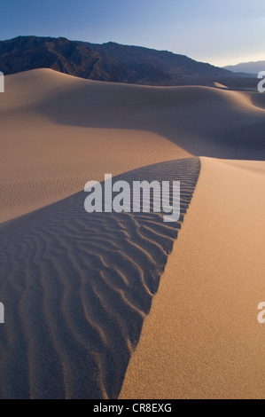 Sand dunes in Death Valley National Park, California, USA - Stockfoto
