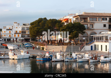 Port, Cala Ratjada, Majorca, Balearic Islands, Spain, Europe - Stock Photo