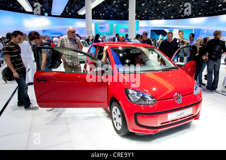 Volkswagen, VW up, 64th International Motor Show, IAA, 2011, Frankfurt am Main, Hesse, Germany, Europe - Stock Photo